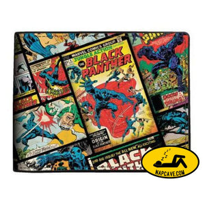 Marvel Black Panther Comic Bi-Fold Wallet Marvel Comics Marvel Black Panther Comic Bi-Fold Wallet mxed