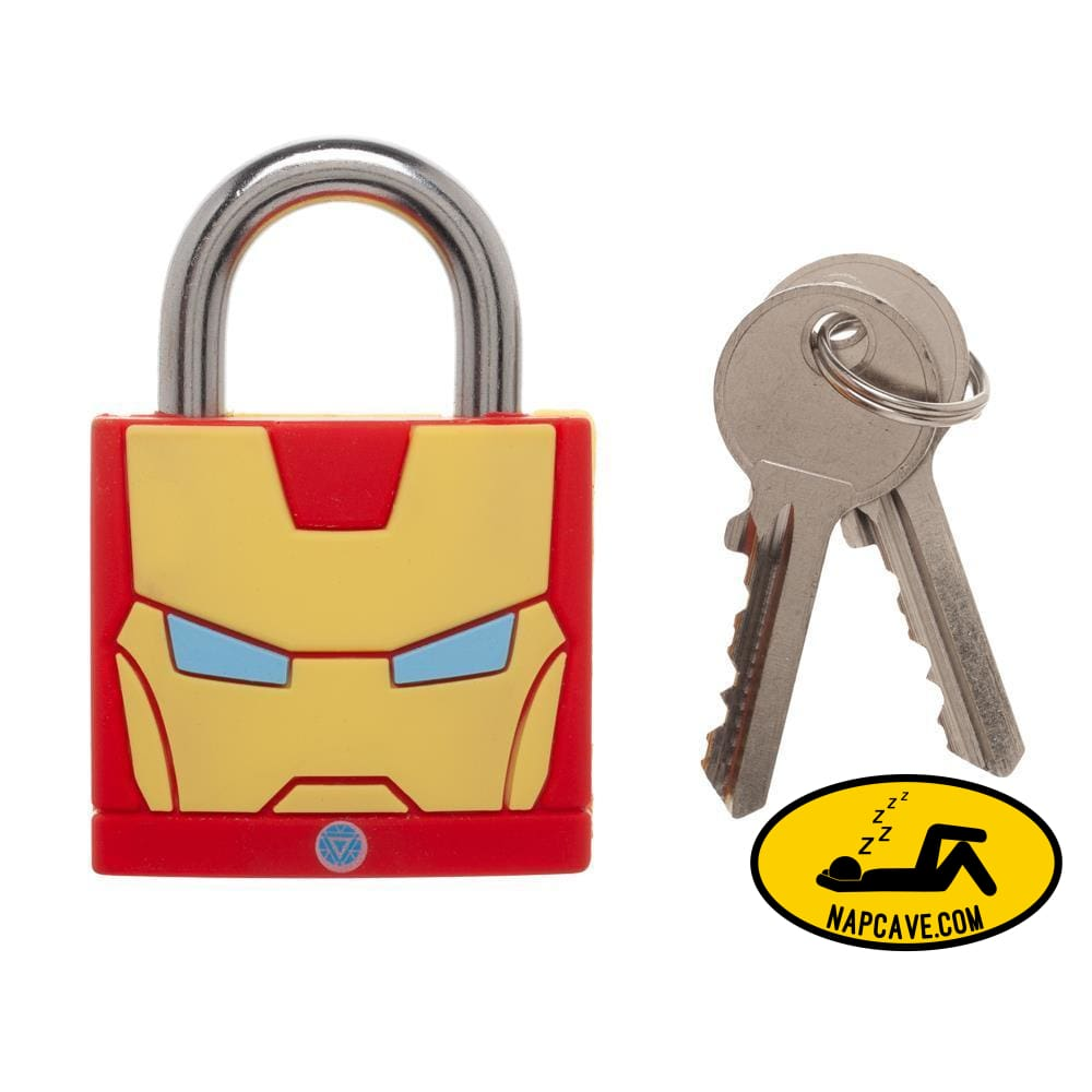 Marvel Comics Big Ironman Face Large Padlock Marvel Comics Marvel Comics Big Ironman Face Large Padlock mxed