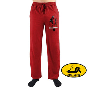 Marvel Deadpool Elite Pajama Pants Marvel Comics Marvel Deadpool Elite Pajama Pants mxed