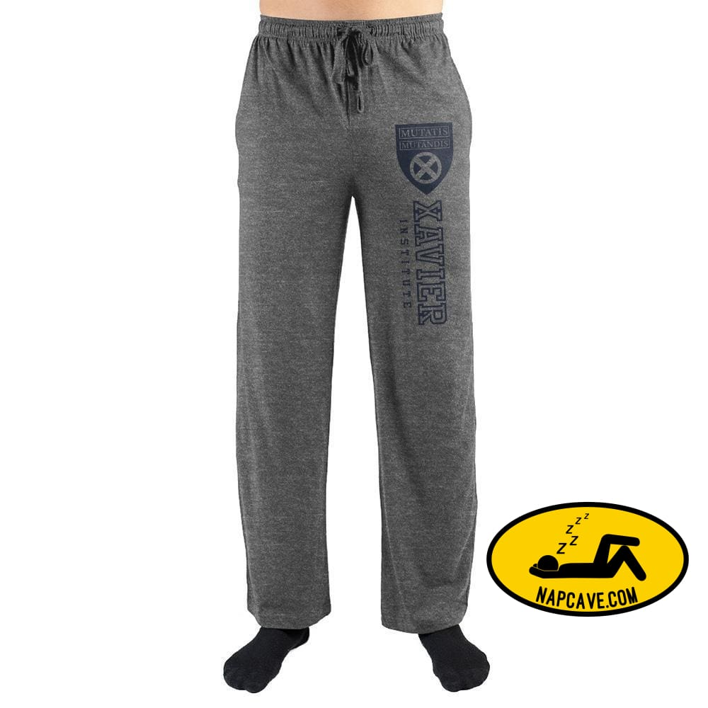 Marvel X-Men Xavier Institute Sleep Pants The NapCave Marvel X-Men Xavier Institute Sleep Pants mxed