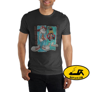 Mens Bugs Bunny And Daffy Duck Shirt The NapCave Mens Bugs Bunny And Daffy Duck Shirt mxed