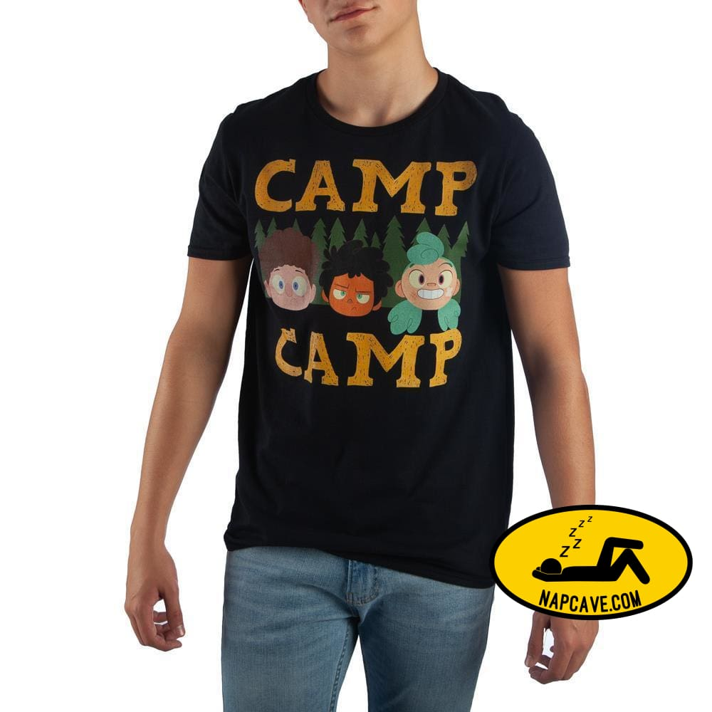 Mens Camp Camp Characters Character Shirt The NapCave Mens Camp Camp Characters Character Shirt mxed