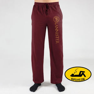 Mens Game Of Thrones Sweatpants House Lannister Game of Thrones Pants The NapCave Mens Game Of Thrones Sweatpants House Lannister Game of