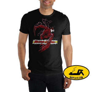 Mens Maximum Carnage Marvel Comics Shirt Venom Mens Maximum Carnage Marvel Comics Shirt mxed