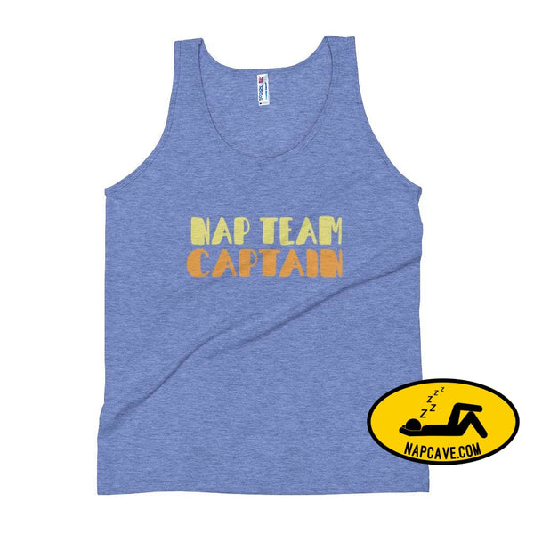 Nap Team Unisex Tank Top Athletic Blue / XS The NapCave Nap Team Unisex Tank Top captain competitive napper competitive napping team nap
