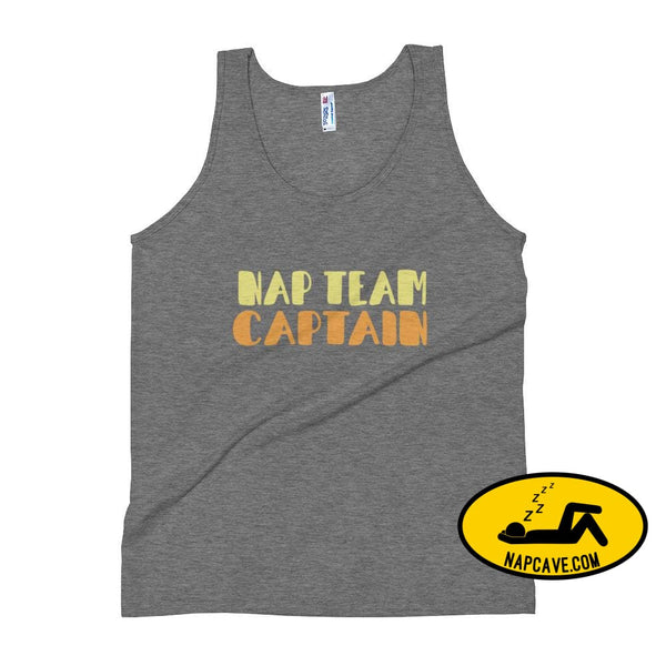Nap Team Unisex Tank Top Athletic Grey / XS The NapCave Nap Team Unisex Tank Top captain competitive napper competitive napping team nap