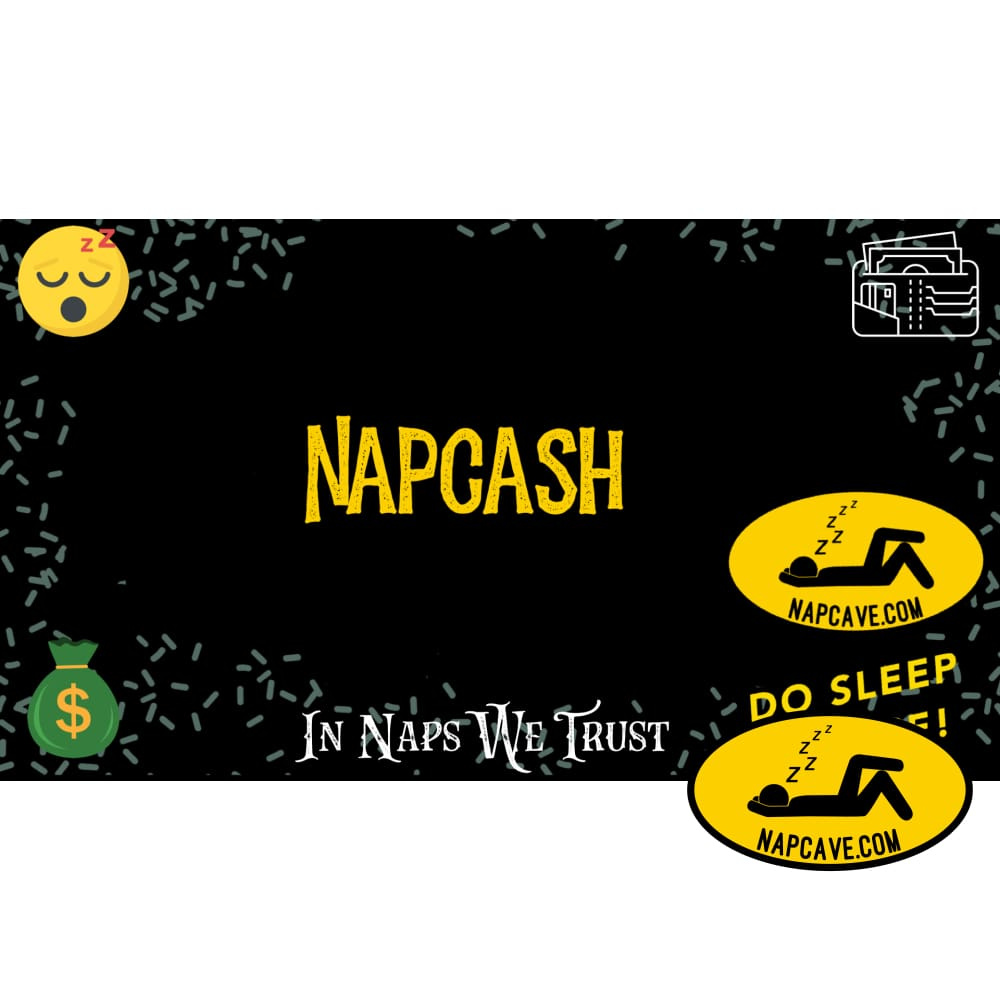 NapCave Napcash Gift Card gift cards NapCave NapCave Napcash Gift Card autism, awareness, cataplexy, gift cards, gifts for sleepy people