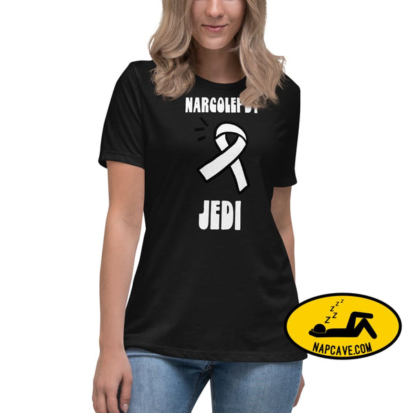 Narcolepsy Jedi Warrior Womens Relaxed T-Shirt The NapCave Narcolepsy Jedi Warrior Womens Relaxed T-Shirt gifts Naps are my Love Story