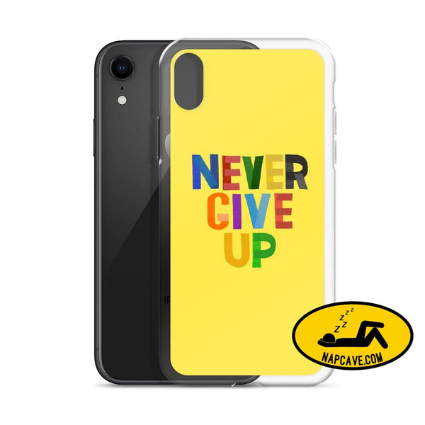 Never Give Up Cell android/iPhone Case Mobile Accessories The NapCave Never Give Up Cell android/iPhone Case Accessories apps case Cell