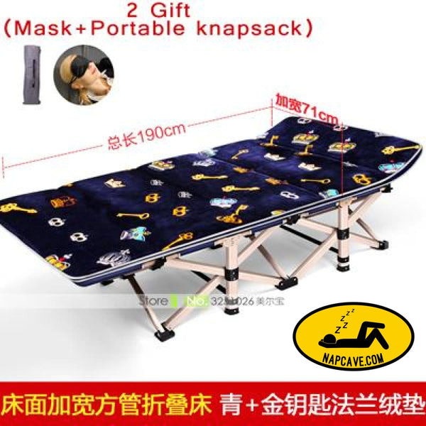 New Free Shipping Folding Bed Winter/Summer Recliner Chair Laying Siesta Deck Chair Fishing Beach Nap Couch Cushion Mattress Bed 09 Nap Cave