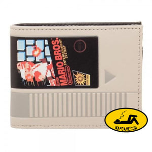 Nintendo Super Mario Cartridge Bi-Fold Wallet ALL Nick 90s Nintendo Super Mario Cartridge Bi-Fold Wallet ALL mxed