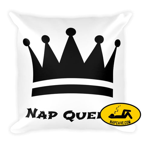 Pillow Fit for a Nap Queen Nap Cave Pillow Fit for a Nap Queen Nap nap king nap queen Throw pillow
