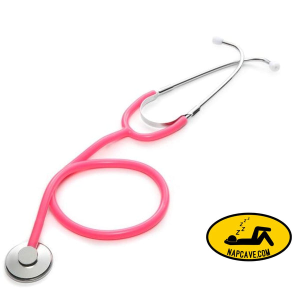 Portable Single Head Stethoscope Professional Cardiology Stethoscope Doctor Medical Equipment Student Vet Nurse Medical Device Pink