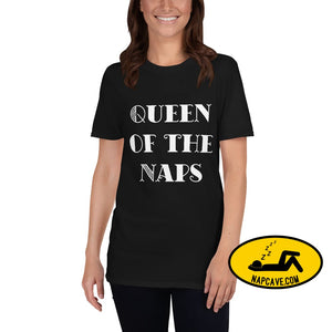 Queen of the Naps T-Shirt Black / S shirt The NapCave Queen of the Naps T-Shirt awareness Custom defy Stigma Game of Thrones gift