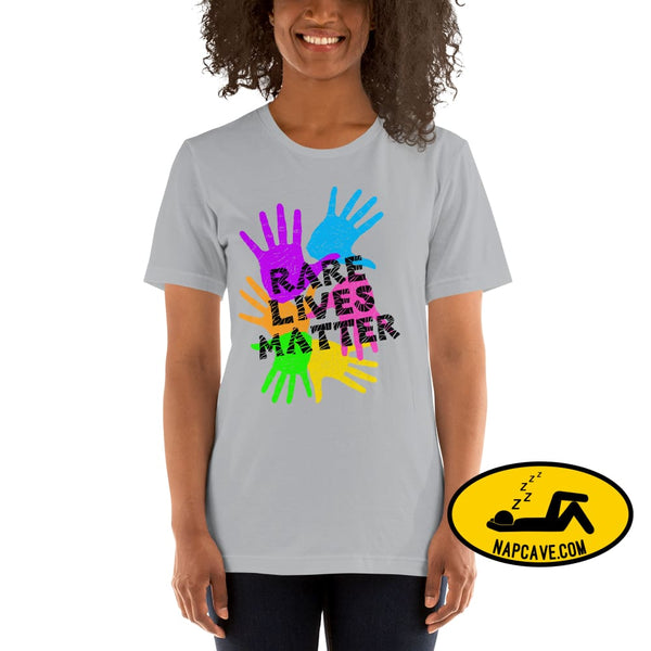 Rare (Disease) Lives Matter 2020 Short-Sleeve Unisex T-Shirt The NapCave Rare (Disease) Lives Matter 2020 Short-Sleeve Unisex T-Shirt
