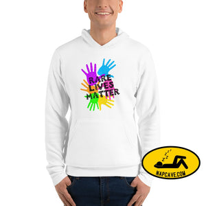 Rare (Disease) Lives Matter 2020 Unisex hoodie White / S The NapCave Rare (Disease) Lives Matter 2020 Unisex hoodie invisible illness