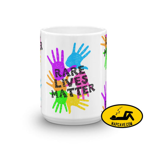 Rare Lives Matter Mug The NapCave Rare Lives Matter Mug cozy dare to be rare EDS mug rare