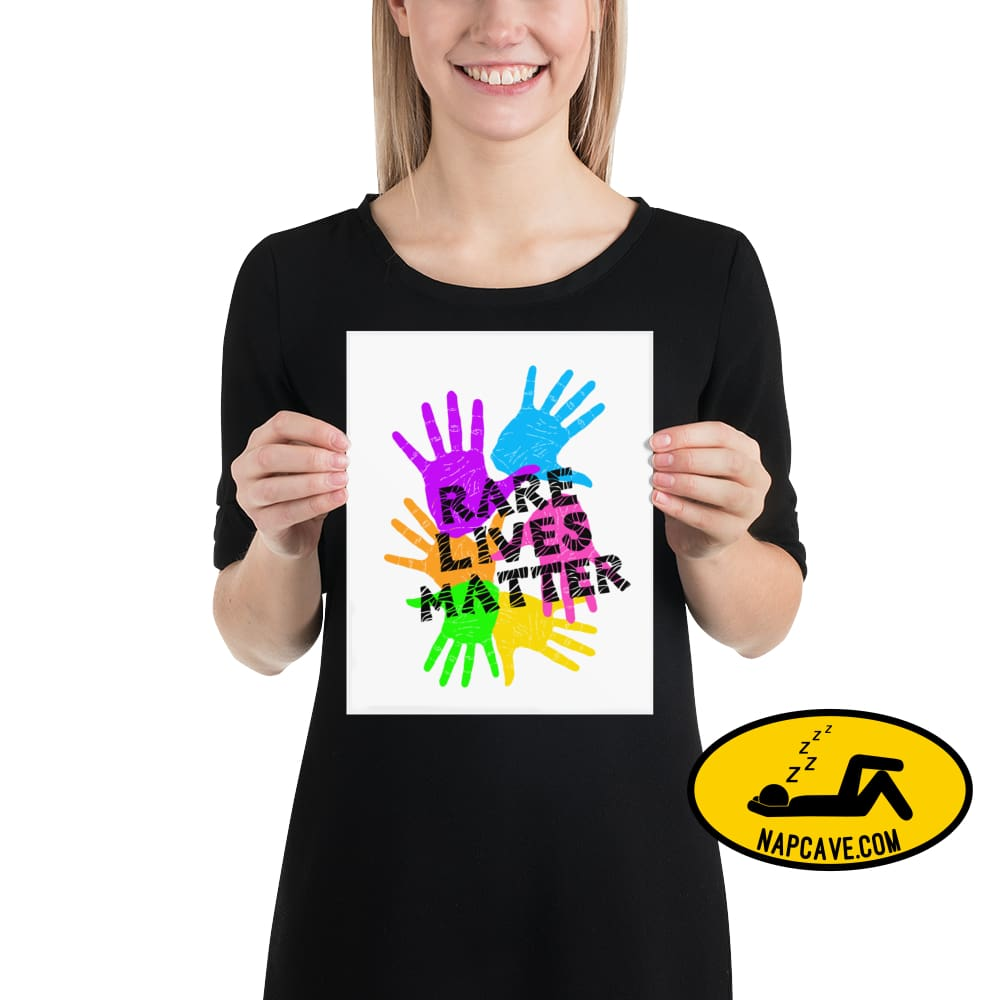 Rare Lives Matter Poster 8×10 The NapCave Rare Lives Matter Poster cozy dare to be rare EDS Poster rare