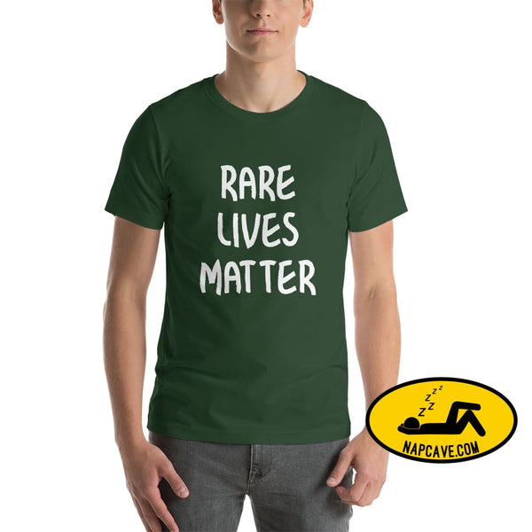 Rare Lives Matter Short-Sleeve Unisex T-Shirt Forest / S The NapCave Rare Lives Matter Short-Sleeve Unisex T-Shirt Naps are my Love Story