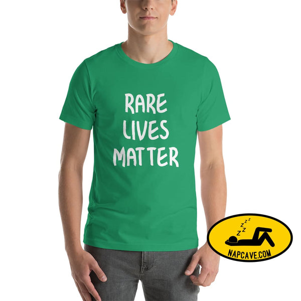 Rare Lives Matter Short-Sleeve Unisex T-Shirt Kelly / S The NapCave Rare Lives Matter Short-Sleeve Unisex T-Shirt Naps are my Love Story
