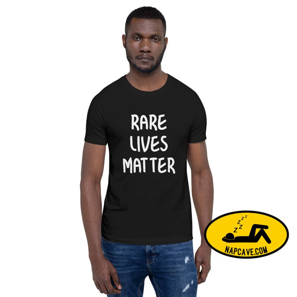 Rare Lives Matter Short-Sleeve Unisex T-Shirt The NapCave Rare Lives Matter Short-Sleeve Unisex T-Shirt Naps are my Love Story Womens short