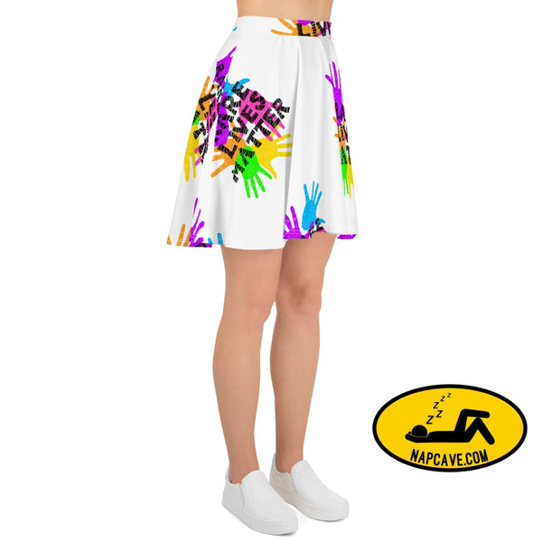 Rare Lives Matter Skater Skirt Skirts The NapCave Rare Lives Matter Skater Skirt blanket cozy dare to be rare EDS rare