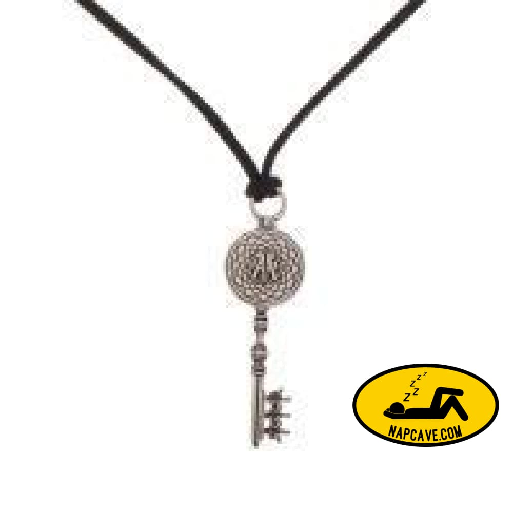 Ready Player One Game Key Quest Pendant with Adjustable Cord Necklace Detailed Zinc Alloy Jewelry Ready Player One Game Key Quest Pendant