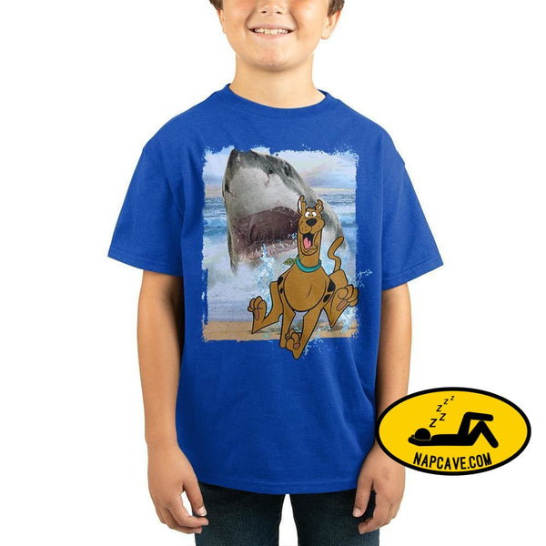 Scooby Doo Shark Boys Graphic Tee Scooby Doo Shirt The NapCave Scooby Doo Shark Boys Graphic Tee Scooby Doo Shirt mxed