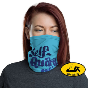 Self-Quarantine Mode On face Mask Neck gaiter The NapCave Self-Quarantine Mode On face Mask Neck gaiter covid-19,Face mask,flatten the