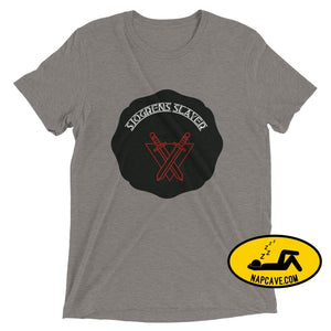 Sjogrens Slayer Grey Triblend / XS shirt Nap Cave Sjogrens Slayer autoimmune disease Sjogrens Disorder
