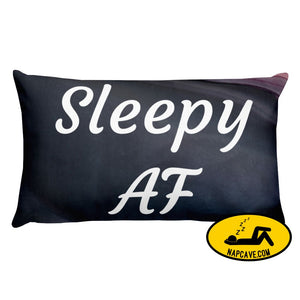 Sleepy AF Pillow The NapCave Sleepy AF Pillow AF Circadian Rhythm Disorder Gift invisible illness nap