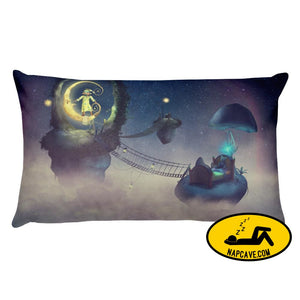 Sleepy Fantasy Pillow 20×12 Pillow The NapCave Sleepy Fantasy Pillow art comfort cozy fantasy gift