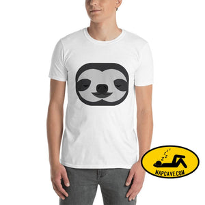 Sloth Face CuteAttack! Short-Sleeve Unisex T-Shirt S shirt The NapCave Sloth Face CuteAttack! Short-Sleeve Unisex T-Shirt