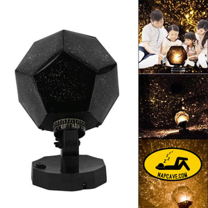 Star Sky Projector Romantic Cosmos Night Lamp LED Projection Lamp Bedroom Decoration Portable Home Decor Kids Gift Light The NapCave Star
