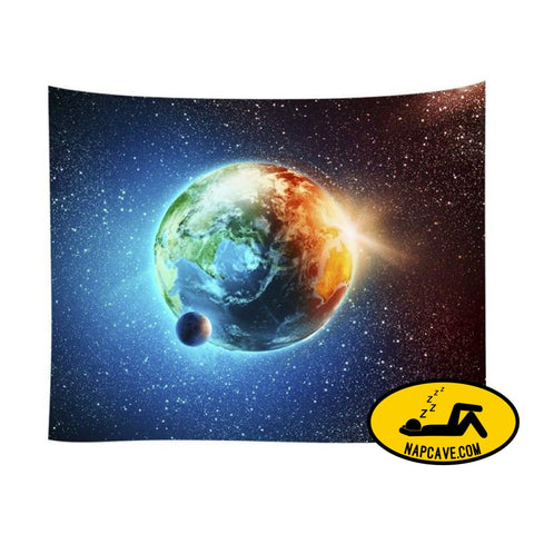 Star universe series home blanket polyester tapestry Pillow The NapCave Star universe series home blanket polyester tapestry bedding BLANKET