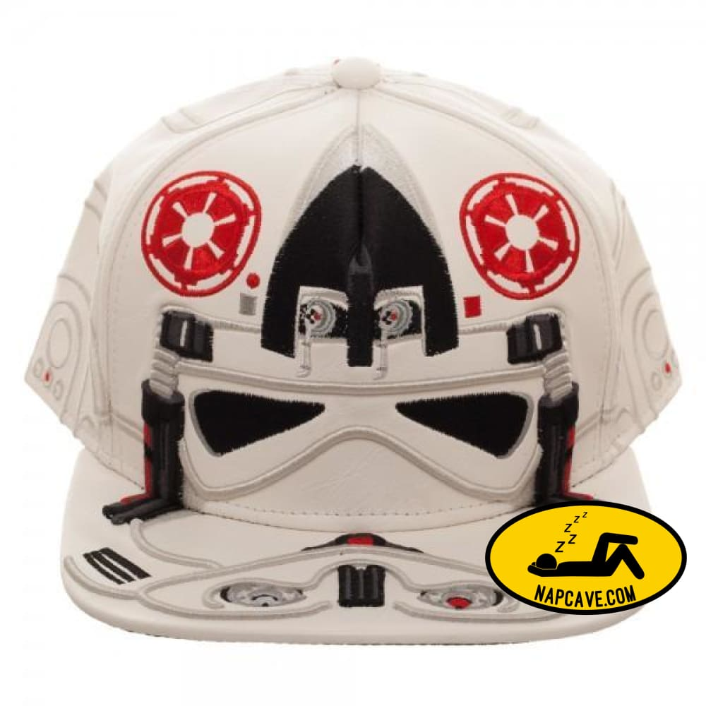 Star Wars AT-AT Driver Big Face Snapback Star Wars Star Wars AT-AT Driver Big Face Snapback mxed