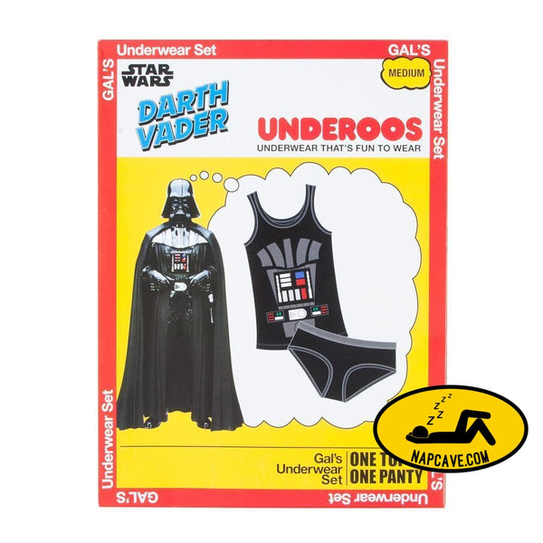 Star Wars Darth Vader Underoos for women Underwear pajamas underoos Underoos Underwear pajamas Star Wars Darth Vader Underoos for women [Low