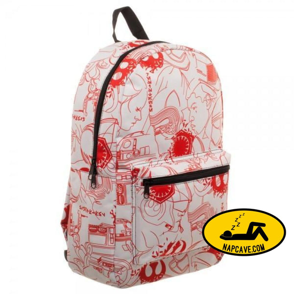 Star Wars Episode 8 Salt Planet Backpack Star Wars Star Wars Episode 8 Salt Planet Backpack backpack Jedi loke mxed pricess Lea