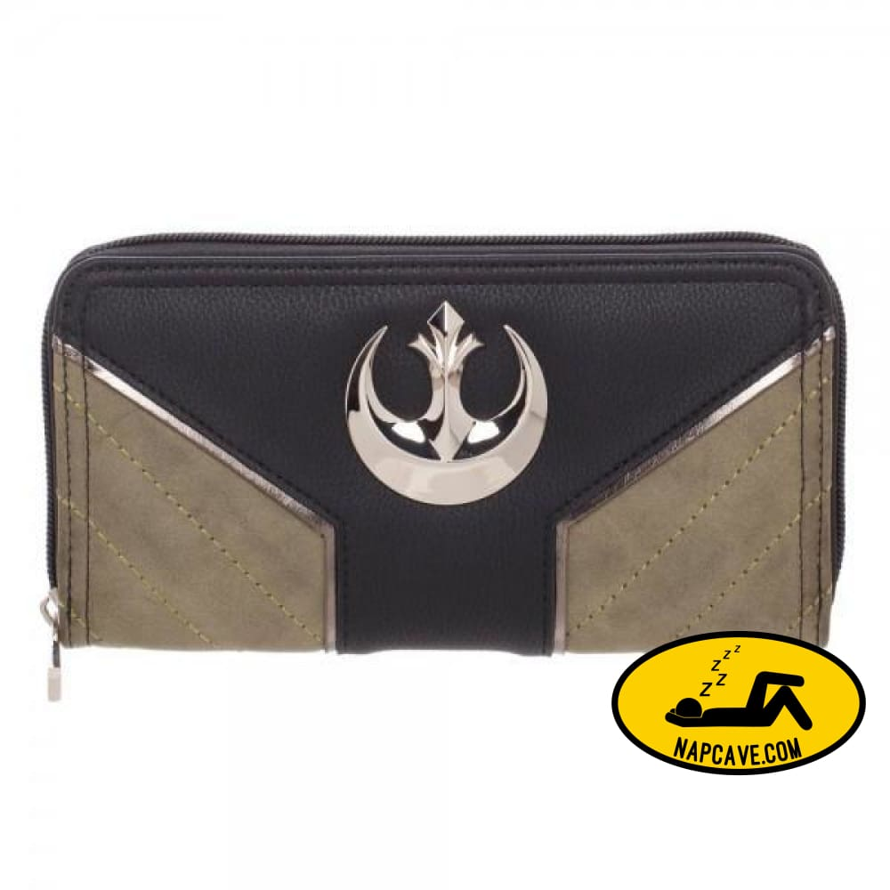 Star Wars Rogue One Rebel Jyn Zip Around Wallet Star Wars Star Wars Rogue One Rebel Jyn Zip Around Wallet mxed