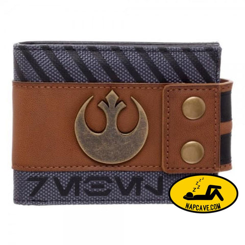 Star Wars Rogue One Rebel Snap Bi-Fold Wallet Star Wars Star Wars Rogue One Rebel Snap Bi-Fold Wallet mxed