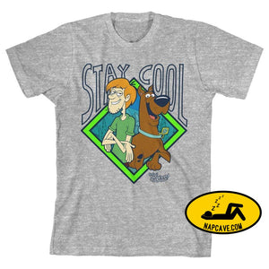 Stay Cool Scooby Doo Shirt Boys Graphic Tee The NapCave Stay Cool Scooby Doo Shirt Boys Graphic Tee mxed