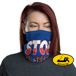 Stop Covid-19 Spreading be safe! Face mask Neck Gaiter The NapCave Stop Covid-19 Spreading be safe! Face mask Neck Gaiter