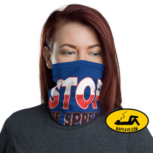 Stop the Spread Face Mask Neck gaiter The NapCave Stop the Spread Face Mask Neck gaiter covid-19,Face mask,flatten the curve,protect