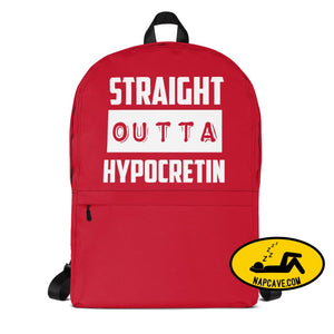 Straight Outta Hypocretin Backpack Bag Backpack The NapCave Straight Outta Hypocretin Backpack back to achool Backpack bag knasacks
