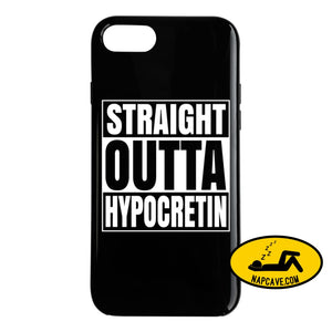 Straight Outta Hypocretin Phone Case Phone Case / Black / iPhone 8 T-Shirt Tshirtgang Straight Outta Hypocretin Phone Case case hypocretin