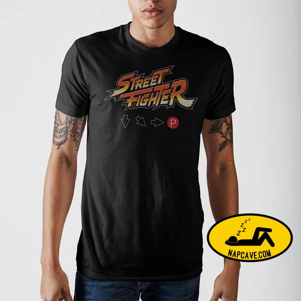 Street Fighter Logo Hadouken T-Shirt Capcom Street Fighter Logo Hadouken T-Shirt mxed