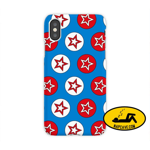 Super Hero Iphone Cases iPhone XS Max / Stars in Circles JetPrint Fulfillment Super Hero Iphone Cases
