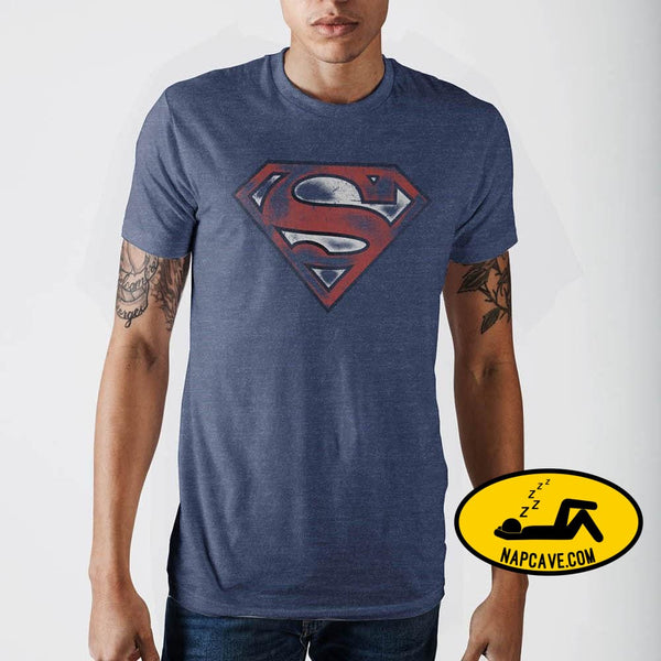 Superman Navy T-Shirt Exclusive Superman Navy T-Shirt mxed