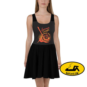 Surfs Up Summer Escape Skater Dress XS The NapCave Surfs Up Summer Escape Skater Dress custom dress dresses gift gifts
