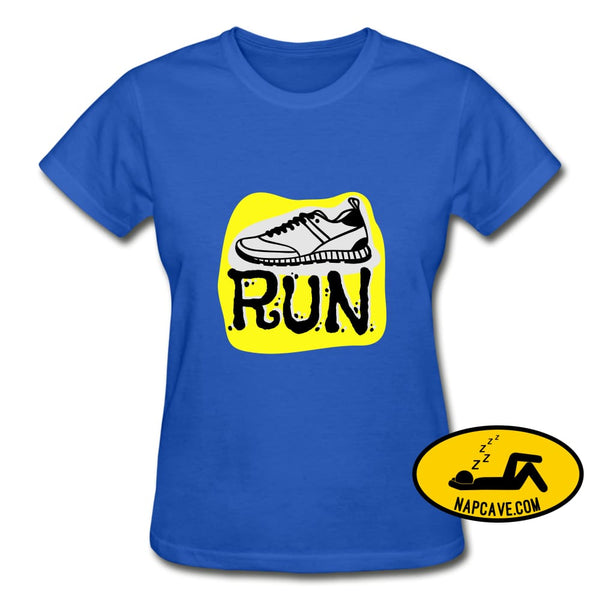 That Running Excitement royal blue / S Gildan Ultra Cotton Ladies T-Shirt SPOD That Running Excitement customizable SPOD T-Shirts Women